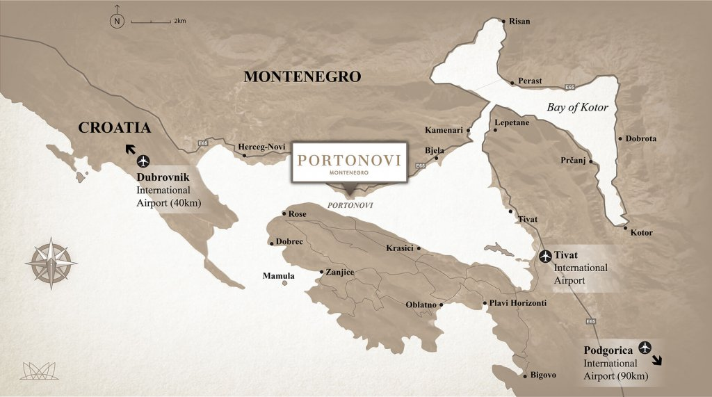 portonovi location map
