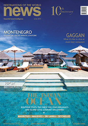 Destinations of the World Magazine, June 2017, cover